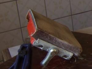 Наждачная бумага на бруске
