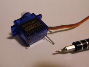 Раскручиваем сервомашинку HTX900
